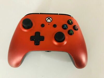 POWERA Red Xbox One Enhanced Controller Excellent condition Fast UK Post
