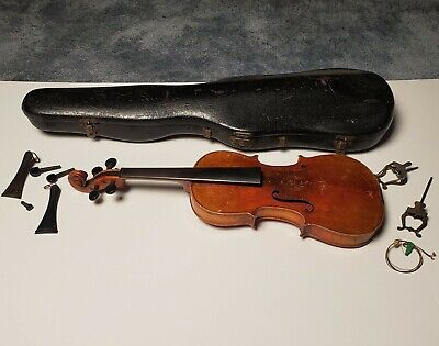 Antique Violin W/ Case Estate find
