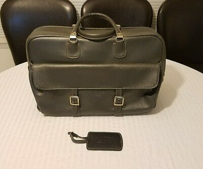 Vintage Samsonite Silhouette Soft Luggage Handi Tote Overnight Saddle Bag