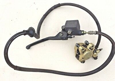 PIAGGIO NRG up to 2005 FRONT BRAKE SYSTEM caliper master cylinder hose