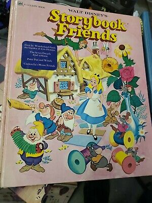 Walt Disney's Storybook Friends (Golden Press, Western Publishing, 1976) HB (mb)