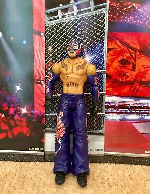 WWE Mattel action figure BASIC Series REY MYSTERIO toy PLAY Wrestling Purple