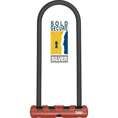 Abus Ultra 410 D Lock with 230mm Cable Bike Lock Sold Secure Silver Certified