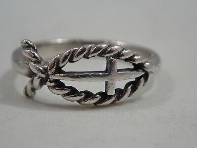 James Avery Twisted Wire Heart Ring Retired 925 99 00 Picclick
