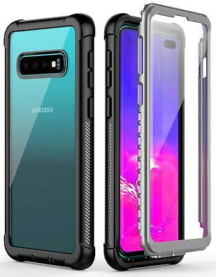 Full Body Shockproof Cover Slim Hybrid Case For Galaxy S10 S9 S8 Note 10 9 Plus