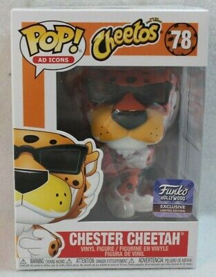 Funko Pop Ad Icons Hollywood Exclusive CHESTER CHEETAH Vinyl Figure 78