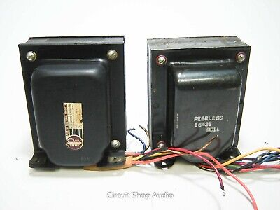 2X Peerless Tube Output Transformers / 16433 -- KT