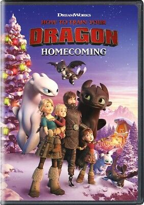 How to Train Your Dragon Homecoming DVD 2019 Brand New release 12/3