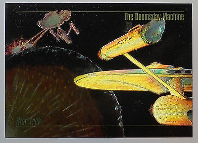 1993 SkyBox Master Series Star Trek Spectra #S5 - The Doomsday Machine