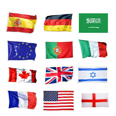 3/'x5/' FT Large National Flag All World Country Polyester Banner Outdoor Supply