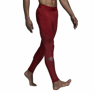 ADIDAS CZ9139 Alphaskin SPORT Climawarm TIGHTS Noble Maroon ( S ) Free Shipping