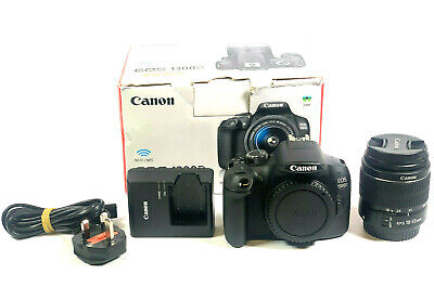 MINT Canon EOS 1300d 18MP DSLR Camera Kit with 18-55mm Lens 682 SHUTTER COUNT