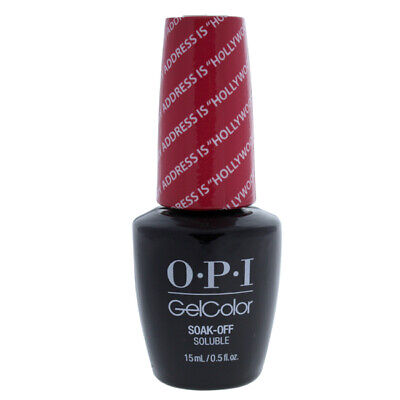OPI GelColor Soak-Off Gel Lacquer - T31 My Address Is Hollywood for Women 0.5 oz