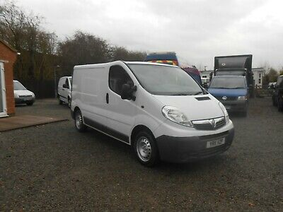 Vauxhall Vivaro 2700 Cdti  Swb Van 2011 11 Reg No Vat Good Condition