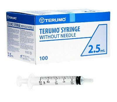 5ml - Terumo Sterile Syringes - Luer Slip Syringe - Medical Hypodermic