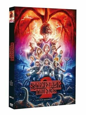 Stranger Things Season 2 (DVD, 3-Disc Set) USA SELLER. Free and Fast Shipping!