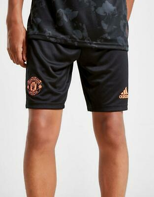 New adidas Manchester United FC 2019/20 Third Shorts Junior