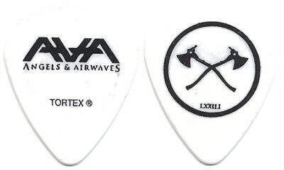 Angels and Airwaves Tom DeLonge authentic 2010 tour band Guitar Pick Blink 182