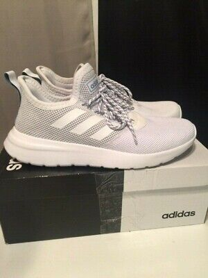 Adidas Lite Racer RBN [F36653] Men Casual Shoes SZ 9 1/2 Grey/White