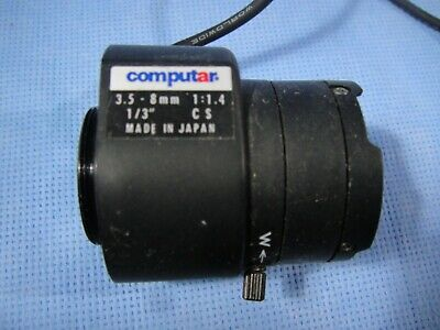COMPUTAR 3.5-8MM F1.4 Zoom Lens CS-Mount CCTV TG2Z3514FCS-2