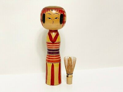 Kokeshi antique wooden doll japan (5004)
