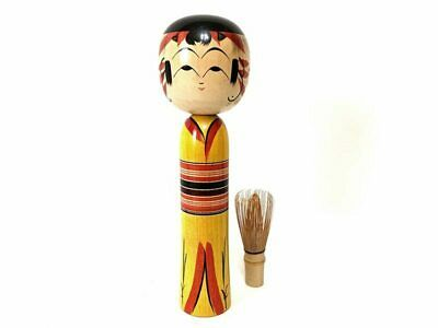 Kokeshi antique wooden doll japan (5008)
