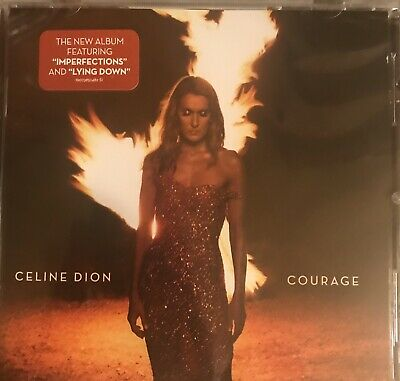 "Celine Dion cd album ""Courage"" brand new sealed free shipping"