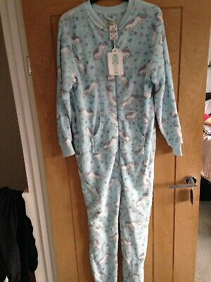 Primark Unicorn  All In One Pyjamas Size XS 6 8 BNWT