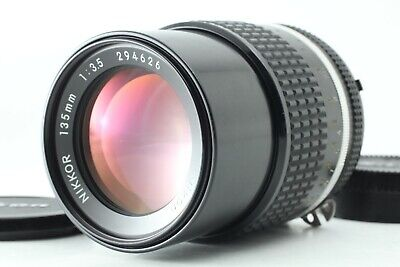 【TOP MINT】NIKON AI-S NIKKOR 135mm F/3.5 MF TELEPHOTO Lens From Japan