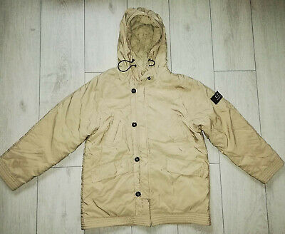 CP Company 12/152 Beige Boys Hooded Jacket