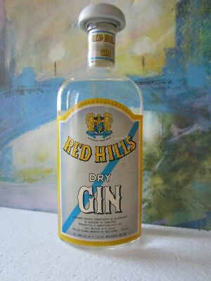 Red Hills Dry Gin - 1949-59 (75cl, 45%)