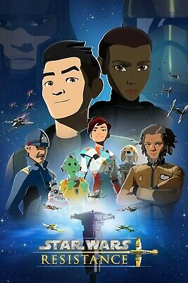 Star Wars Resistance poster  -  11 x 17 inches