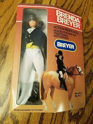 New 1991 Brenda Breyer Action Show Riding Doll Figure For Horses Collectible Toy