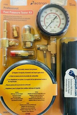 Actron Fuel Pressure Tester Kit Professional CP7838 Automotive Repair Auto -New!
