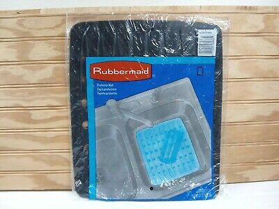 VINTAGE RUBBERMAID RUBBER Sink Protector Mat White 10.7\