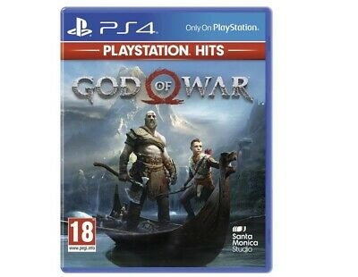 God Of War Playstation Hits (PlayStation 4, 2019) (brand new unopened and sealed