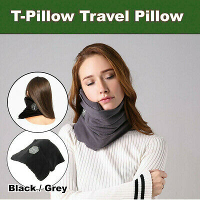 T-Pillow Neck Support Sitting Nap Portable Soft Comfortable Travel Pillow Proven
