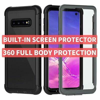 360 Full Body Case Cover For Galaxy S10 S9 S8 Note 10 9 Plus + Screen Protector