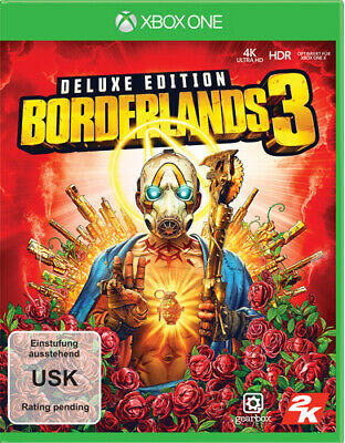 FSK18- Borderlands 3  XB-One  Deluxe - Take2  - (XBox One / sonstige / unsortier