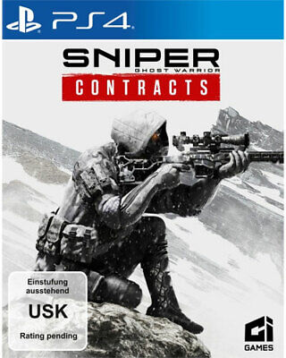 Sniper Ghost Warrior Contracts  PS-4 - Koch Media  - (Sony PS4 / unsortiert/sons