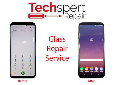 iPhone XS Max Cracked Front Glass Broken Screen Repair Service