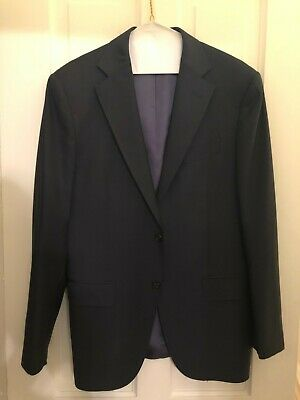 SuitSupply Napoli Navy Suit Jacket (P5229MI) 36R ONLY.