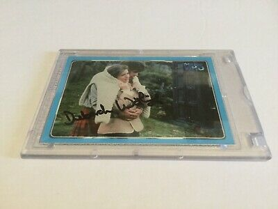 Dr. Who Deborah Watling Hand Signed Trading Card**TAKE A LOOK**