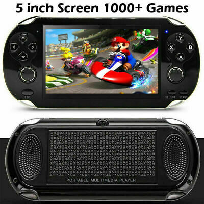 Portable Retro Handheld 128 bit Video Game Console X9 Player Built-in Games UK