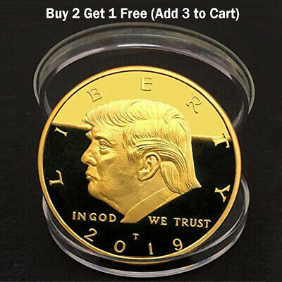 Donald Trump 2020 Keep America Great Commemorative Metal Challenge Coin