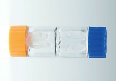 2 x Contact lens cases for Hard Lenses RGP Lens Travel Holder CE FDA Approved
