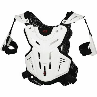 White Sz S EVS Sports F2 Youth Roost Deflector