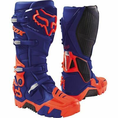 Fox Racing Instinct Offroad Motocross Boots - Blue/Red, All Sizes