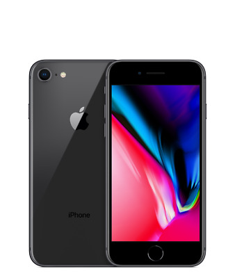 Apple Iphone 8 64Gb Black Ricondizionato Grado A+