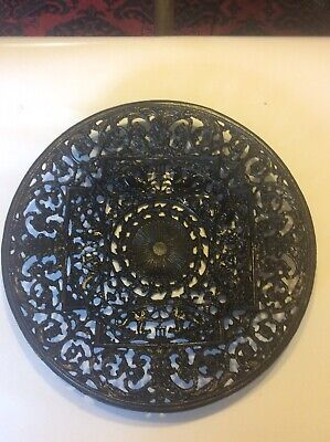 Coalbrookdale Cast Iron Fruit Dish